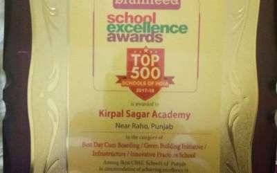 Academy awarded