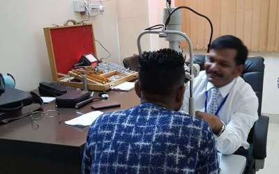 Slit Lamp for Eye Check-Up