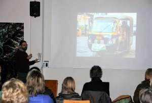 """Vortrag """"indischer Abend"""" 03 02 2018 Waldkirchen, einführende Worte zu Land und Leuten"""