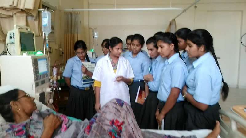 excursion to hospital