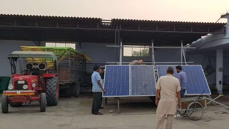 Solar energy for waterpumps