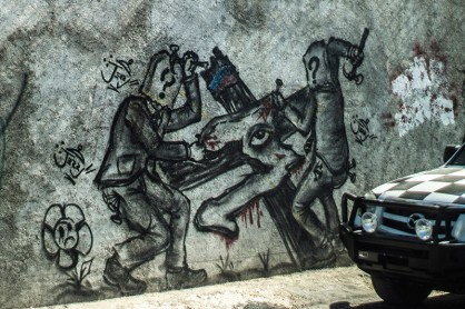 critical ngo graffiti in haiti: ngos building the country