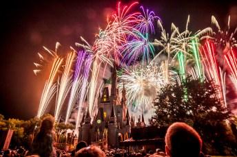 Disney World Orlando - Magic Kingdom Fireworks