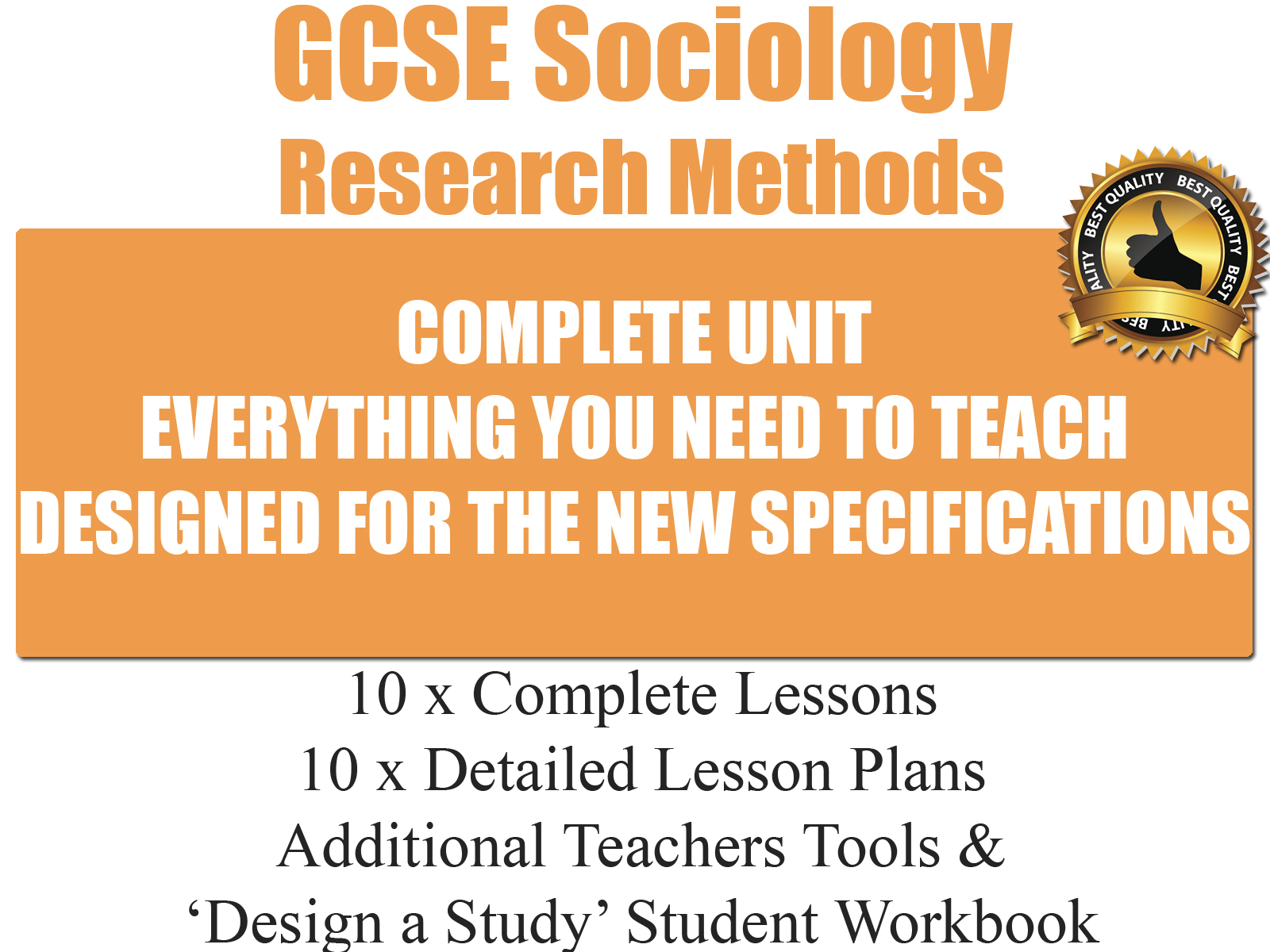Research Methods Gcse Sociology Resources