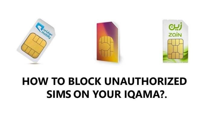 BLOCK SAUDI SIM ONLINE CITC