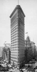 Title: Flat-Iron [i.e. Flatiron] Building, New York, N.Y. Related Names: Detroit Publishing Co. , copyright claimant Detroit Publishing Co. , publisher Date Created/Published: c1903. Medium: 1 negative : glass ; 8 x 10 in. Reproduction Number: LC-D4-16462 (b&w glass neg.) Call Number: LC-D4-16462 [P&P] Repository: Library of Congress Prints and Photographs Division Washington, D.C. 20540 USA
