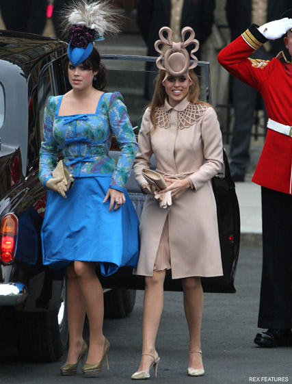 Princesses Beatrice and Eugenie - Philip Treacy defends Princess Beatrice's Royal Wedding hat  - Marie Claire - Marie Claire UK