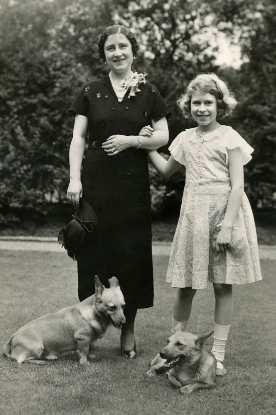 Queen mother 1936