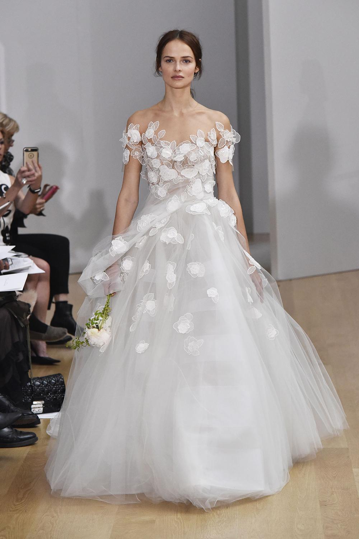 Breathtaking Wedding Dresses From Bridal Fashion Week - Information ...