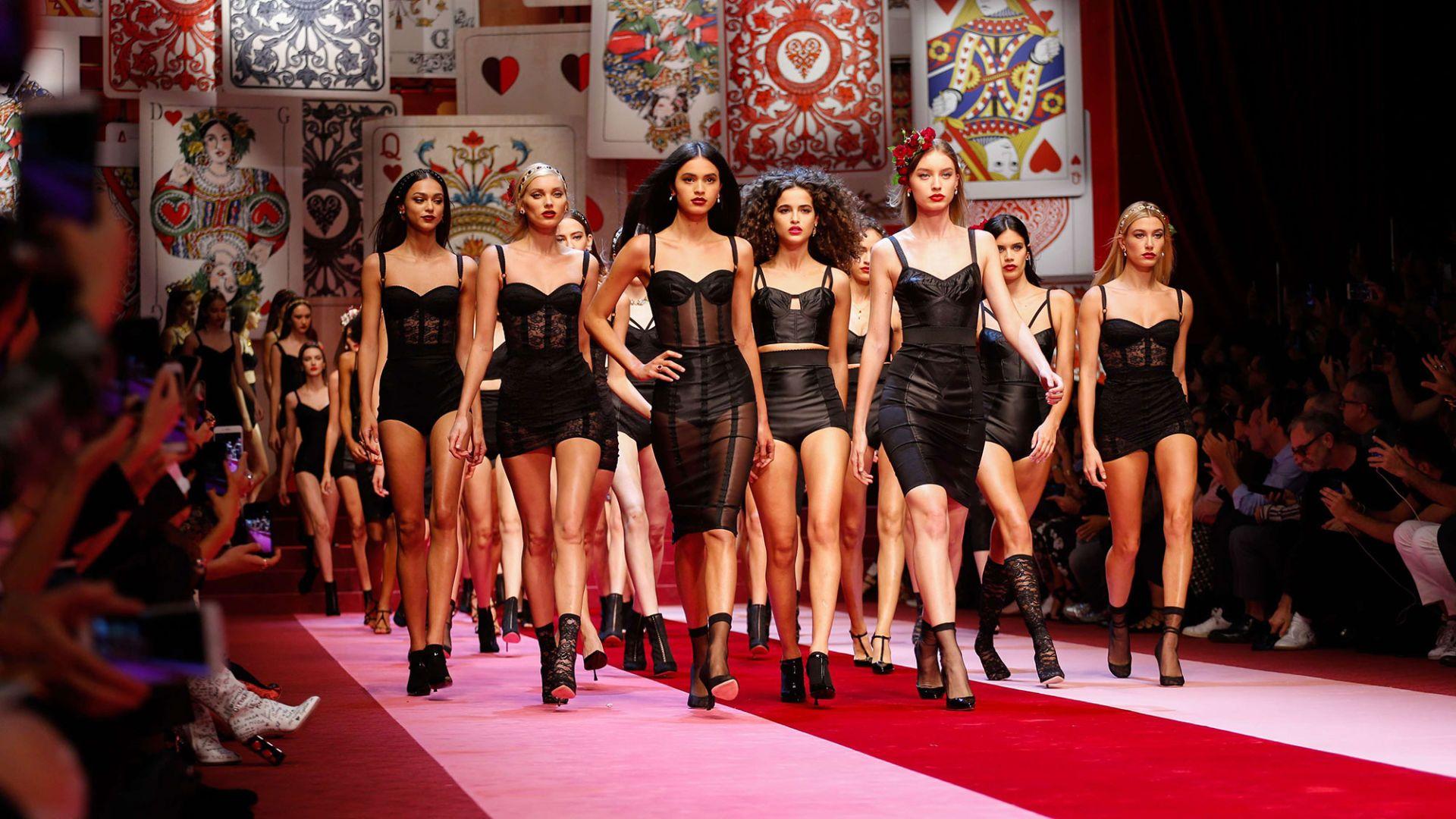 Milan Fashion Week 2017 The Best Dramatic Dresses