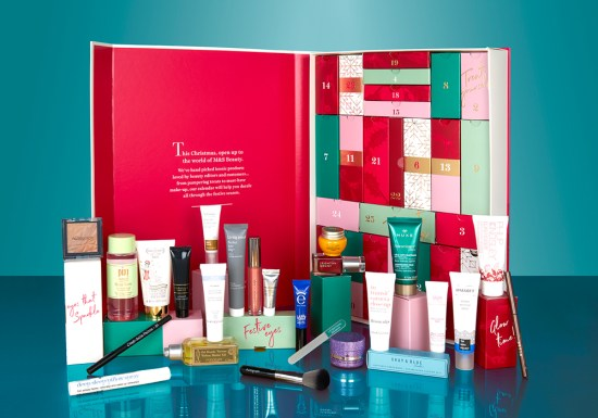 beauty advent calendars M&S