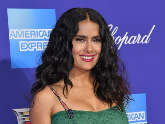 Curly Hair Types 2B Salma Hayek