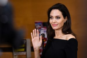 Angelina jolie instagram debut