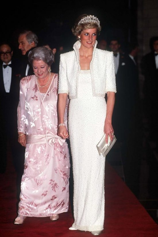 princess diana fashion brands