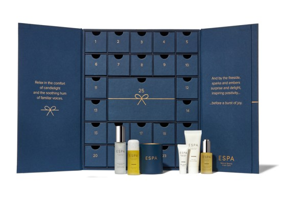 beauty advent calendars 2018 ESPA
