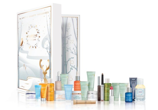 beauty advent calendars 2018 Lumene