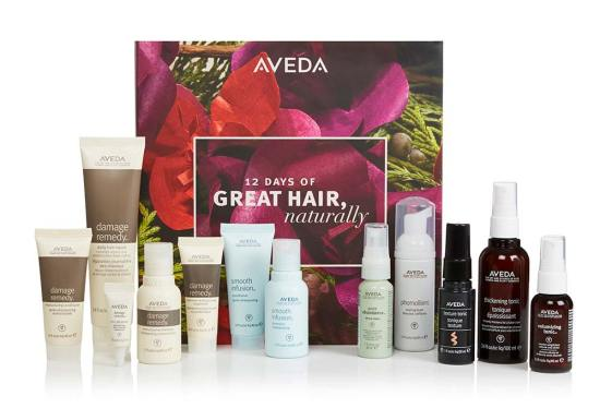 beauty advent calendars Aveda