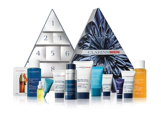 beauty advent calendars 2018 Clarins Mens