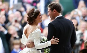 Why brides traditionally stand on the left during wedding ceremonies