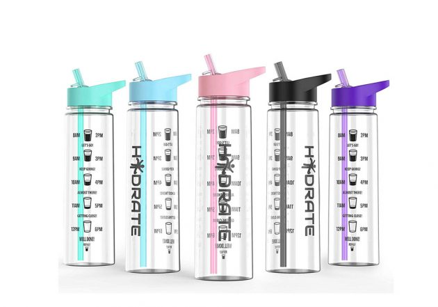 HYDRATE Amazon water bottles for if you're experiencing feeling sick after sex