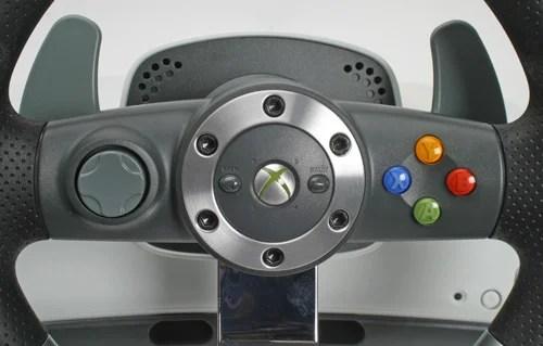 Microsoft Xbox 360 Wireless Steering Wheel Xbox 360