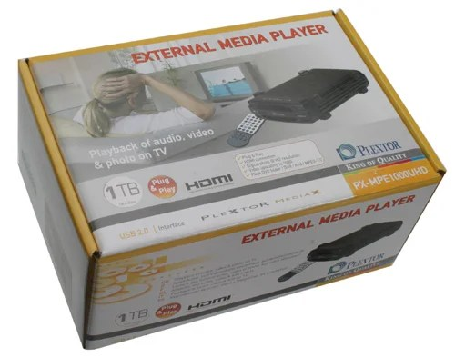 Plextor External Media Player PX MPE1000UHD Review