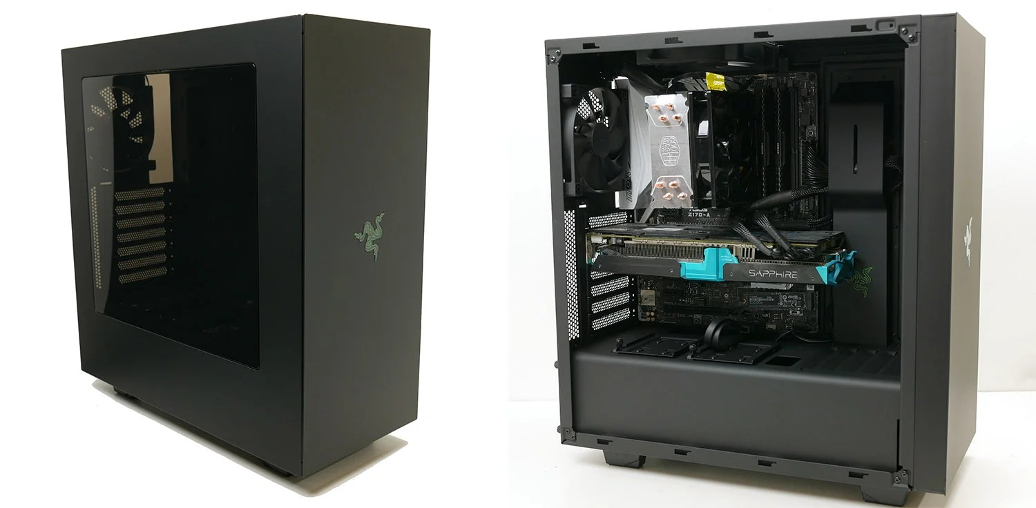 NZXT S340 Razer Trusted Reviews
