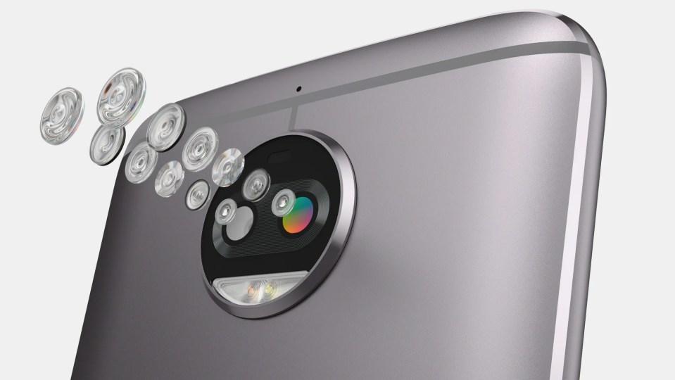 Hasil gambar untuk Moto G5S Plus -Lunar Grey - Snapdragon 625