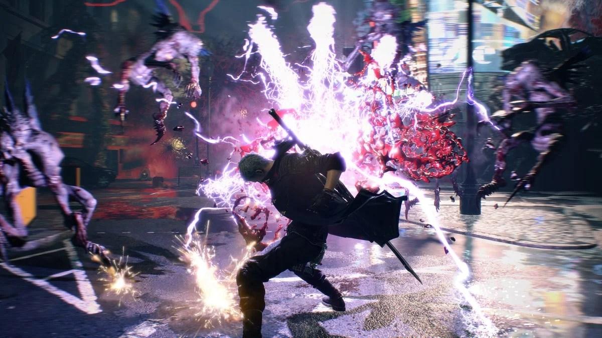 نتيجة بحث الصور عن devil may cry 5 gameplay