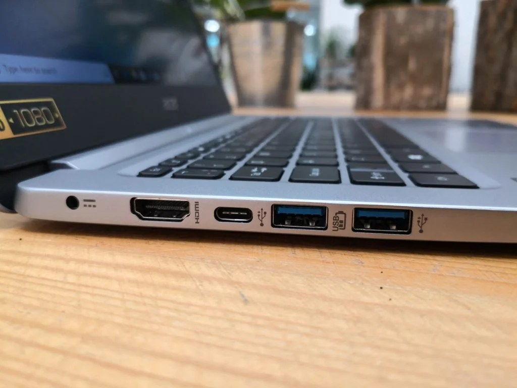 Acer Swift 1 SF114-32 левые порты