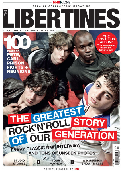 Previously unseen Libertines photos to be published - NME