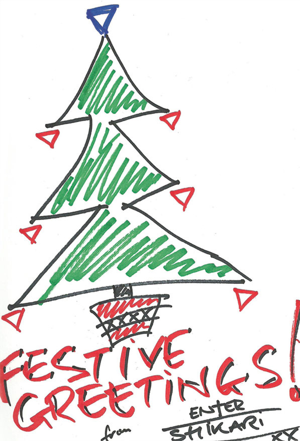 Music Stars Design Christmas Cards Just For You NME