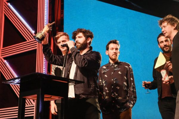 Foals win Best Album at NME Awards 2016 with Austin Texas