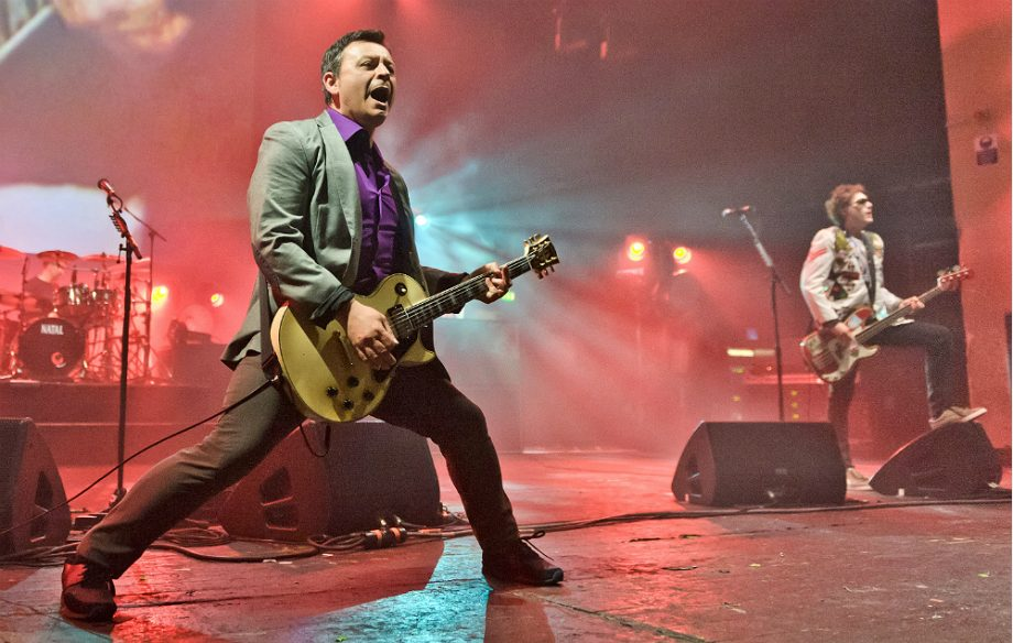 Manic Street Preachers' James Dean Bradfield and Nicky Wire