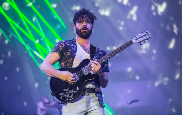 Did Yannis Philippakis just tease some new music from