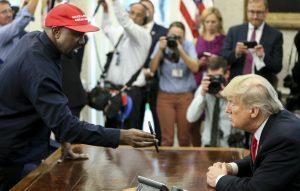 Kanye and Trump