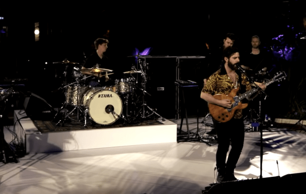 Watch the first live video broadcast of Foals performing