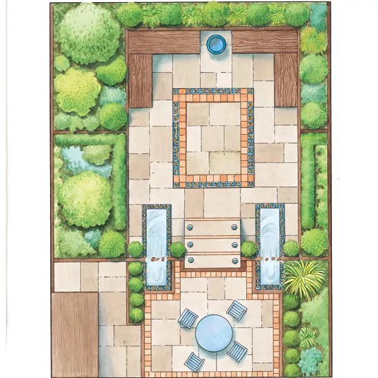 Problem soliving small garden design layouts   Ideal Home on Patio Planner id=75231