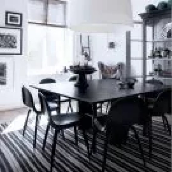 30 Black White Living Rooms That Work Their Monochrome Magic: Black And White Living Room Ideas Uk