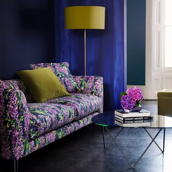 Floral Print Sofa Trend For Spring 2015 Ideal Home