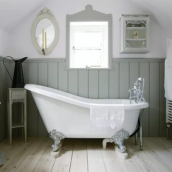 7 Lovely Ways To Decorate Your Country Bathroom Ideal Home