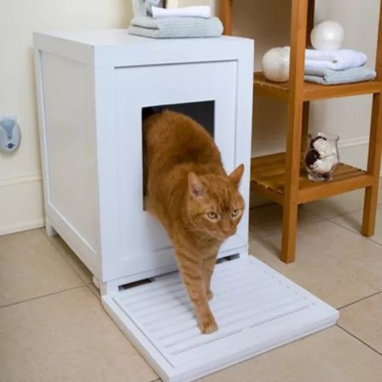7 Creative Ways To Hide Cat Litter Trays Ideal Home