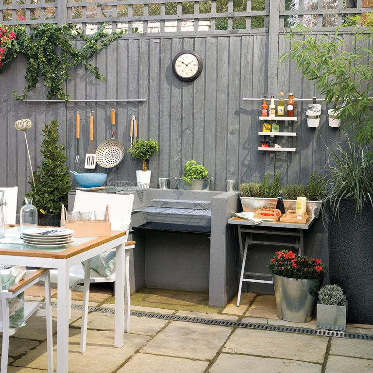 Garden fence ideas - How to bring privacy and structure to ... on Garden Patio Wall Ideas id=48186