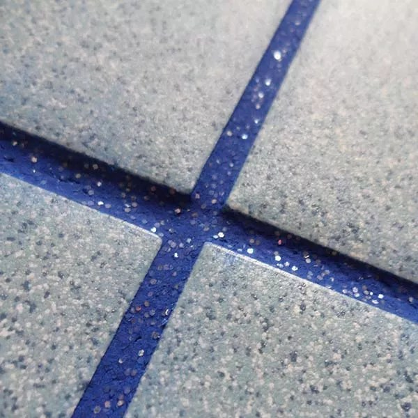 glitter grout is a thing and you need it in your kitchen now ideal home