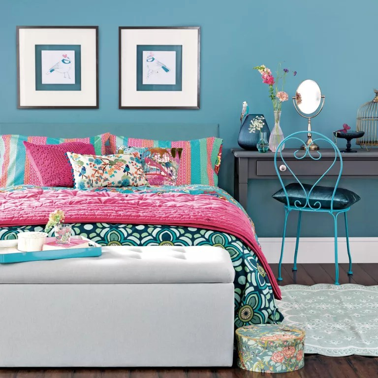 Teenage girls' bedroom ideas for every style - from girly ... on Teen Room Designs  id=43751