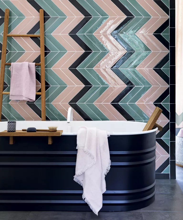Image Result For How To Paint Ceramic Floor Tiles In The Bathroom