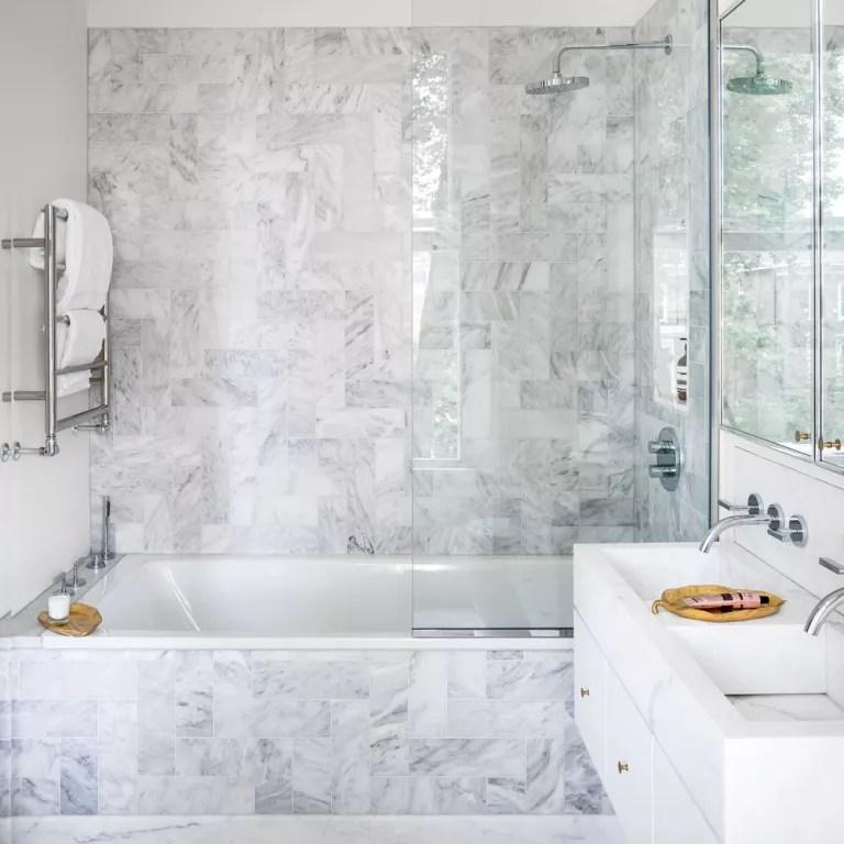 Small bathroom ideas - small bathroom decorating ideas ... on Small Space Small Bathroom Tiles Design  id=16965