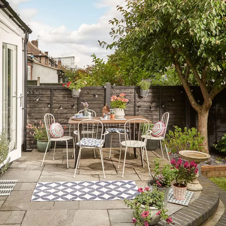 Before and after: we turned our garden into an outdoor ... on Backyard Dining Area Ideas id=14802