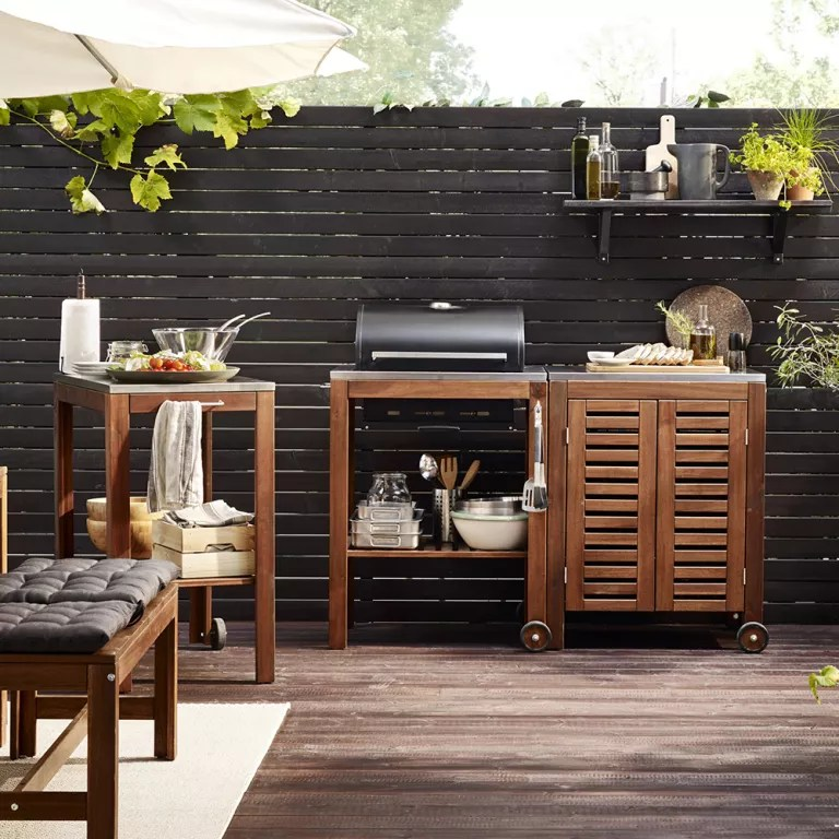 Outdoor kitchens - ideas and designs for your alfresco ... on Backyard Kitchen Design id=74038