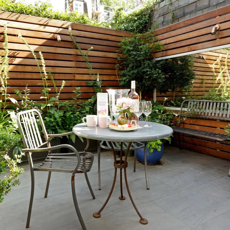 Small garden ideas - small garden designs - Ideal Home on Small Backyard Landscaping id=88631